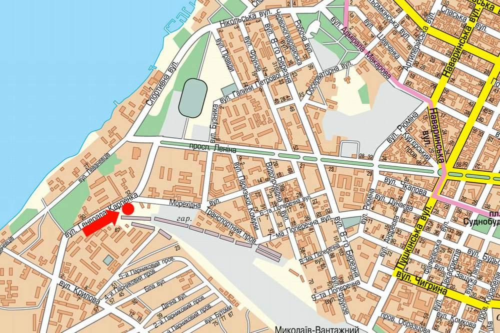 карта николаева с картинками помощью легкой коррекции