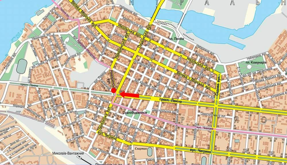 карта николаева с картинками